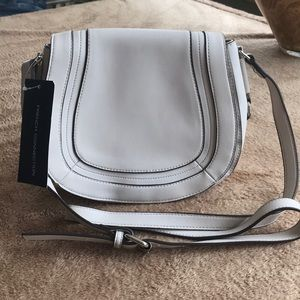 Cross body FCUK faux leather bag NWT
